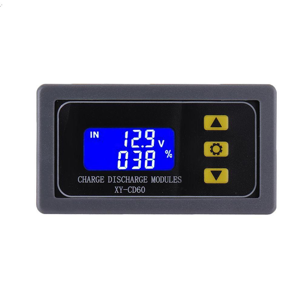 XY-CD60 सोलर बैटरी चार्जर कंट्रोलर 12V 24V 48V चार्जिंग कंट्रोल कंट्रोल मॉड्यूल वोल्टेज करंट प्रोटेक्टर ब