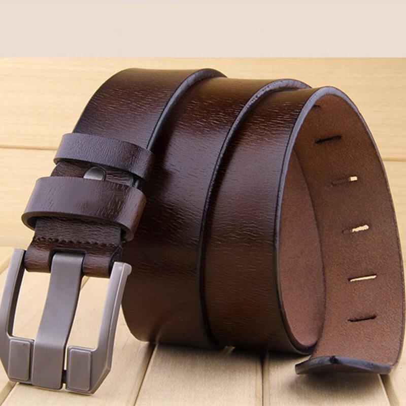KCASA Da thật chính hãng cho nam Thắt lưng dây đeo thường xuyên