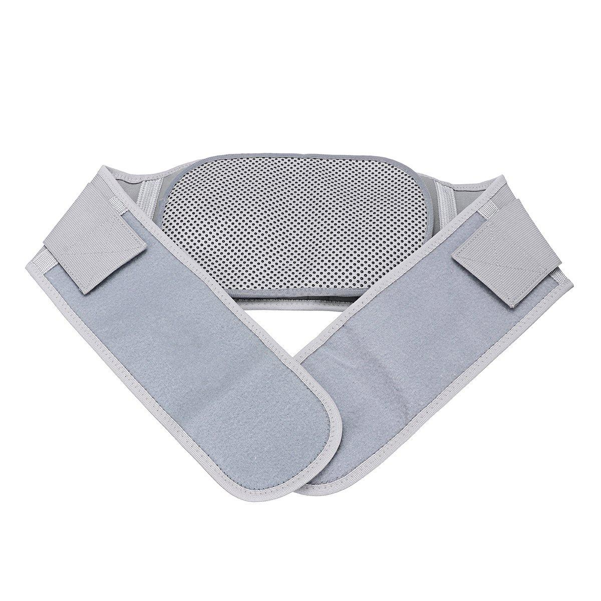 Medical Lumbar Disc Protrusion Tractor Magnetic Self Heating Back Waist Support Brace Belt for Lumbar Muscle Strain Pain Relief
