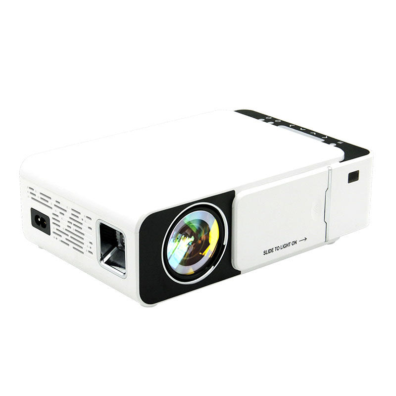 Toprecis T5 LCD Projector 100 ANSI Lumens 800*480 1080P Mini LED Projector Home Theater Basic version