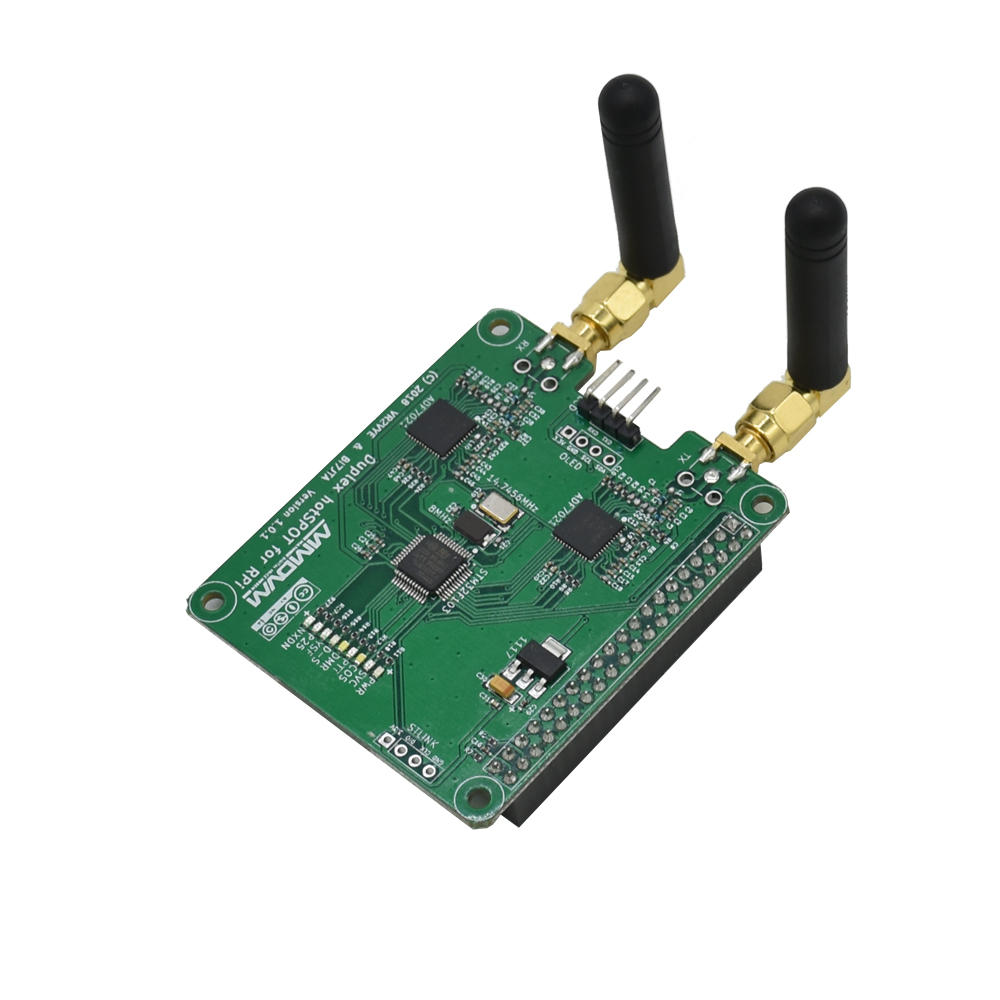 MMDVM Digital Radio Wireless Mini Relay Duplex Hotspot Board with Antenna for Raspberry Pi
