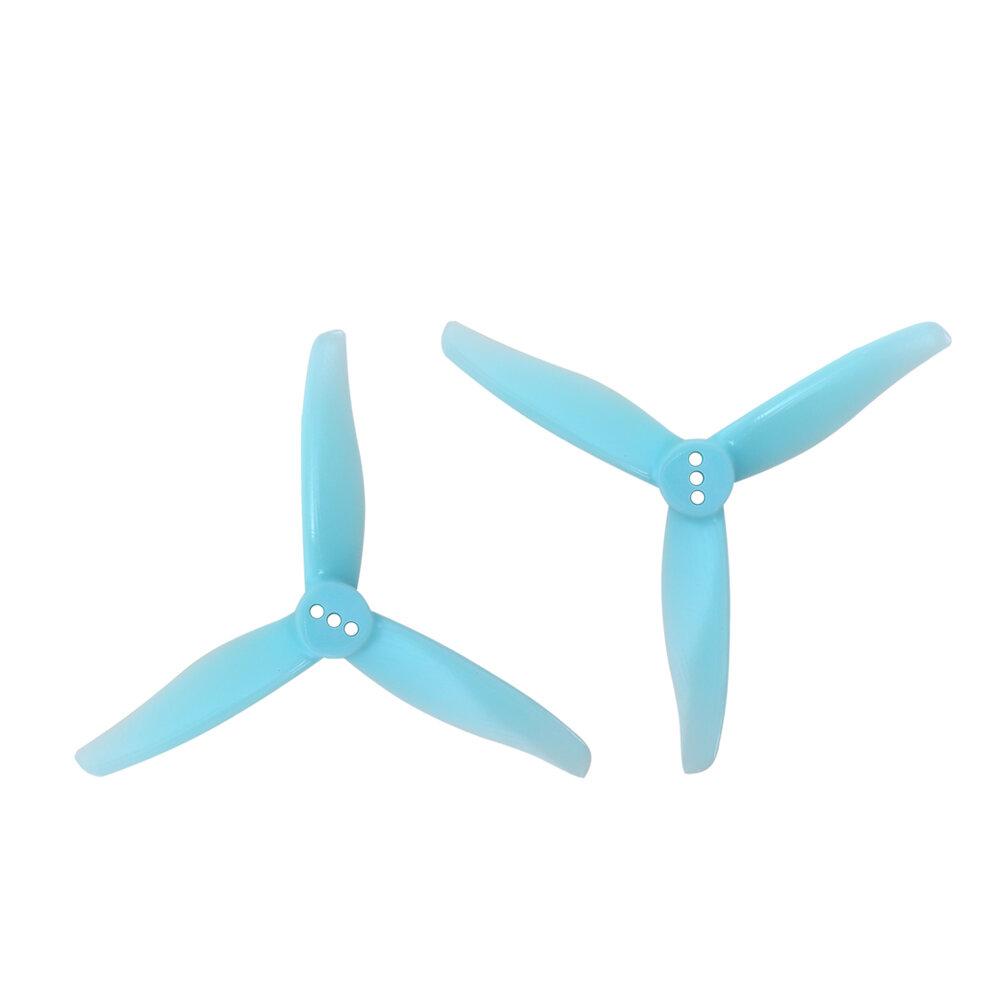 2 coppie GEMFAN 3016 3 Pollici elica per PC a 3 pale 1,5 mm / 2 mm foro per stuzzicadenti uragano RC Drone FPV Racing