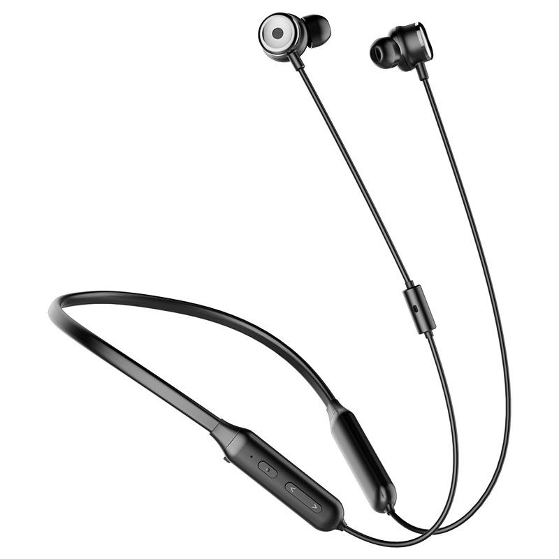 Baseus S15 ANC Wireless bluetooth Earphone HiFi Active Noise Reduction Stereo Neckband Headphone with Mic