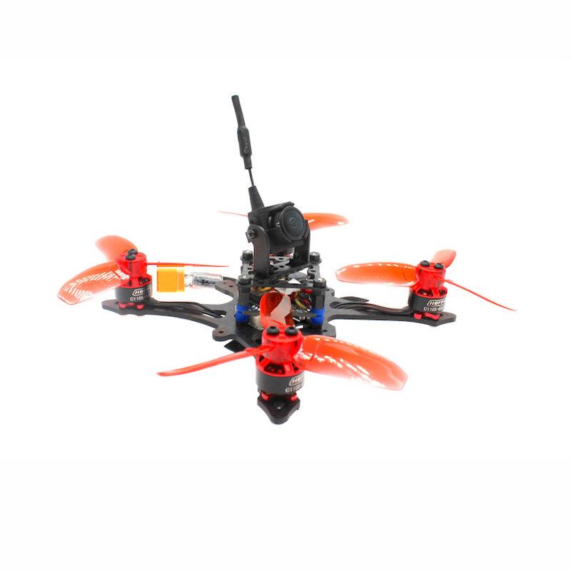HBFPV FA70 GT 2.8 Pollici 2-3S FPV Racing Drone F4 Controllore di volo OSD 12A senza spazzola ESC Caddx EOS2 Cam 200mW VTX