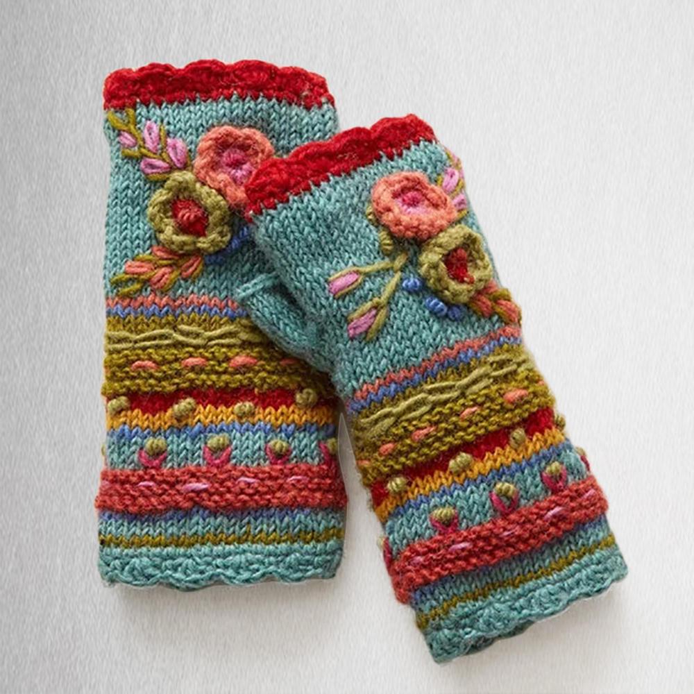 Găng tay đan thông thường Handwarmers Găng tay nữ