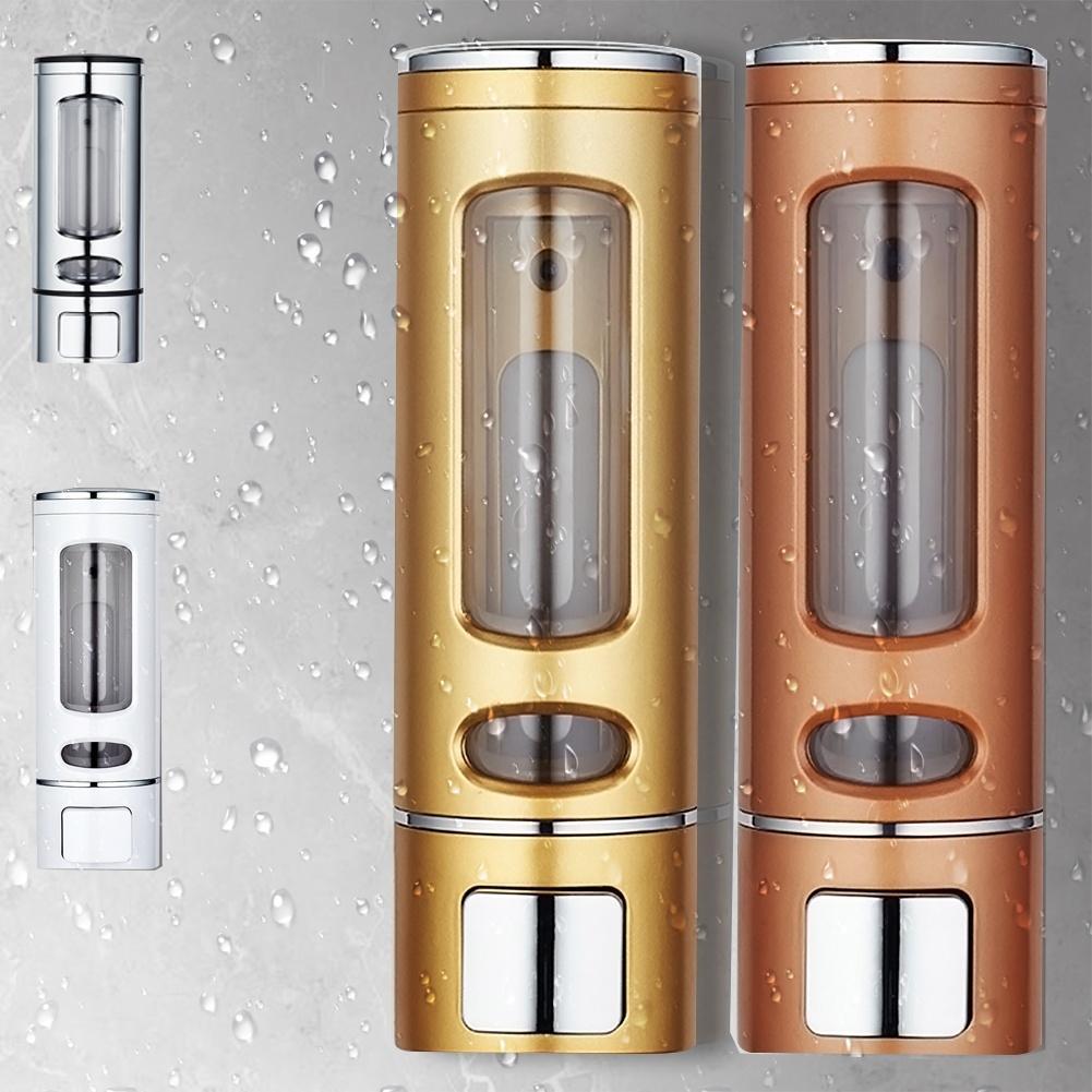 400ml Wall Mount Liquid Soap Kitchen Bathroom Shampoo Dispenser Soap Dispenser