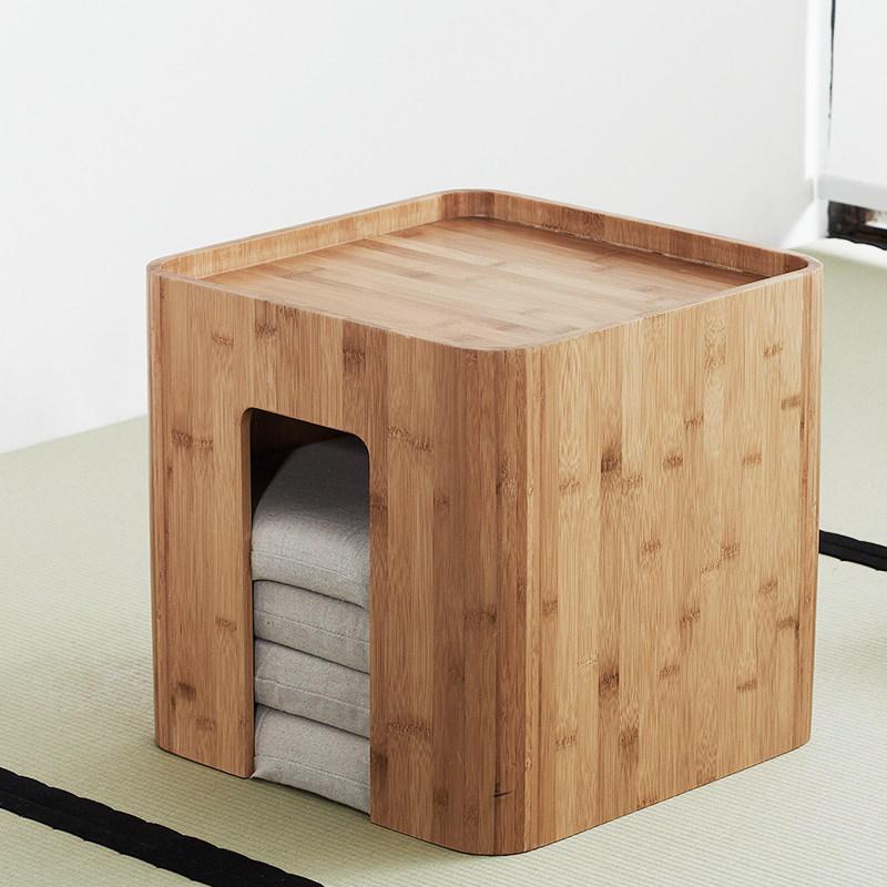 CHENGSHE Простой эркер Маленький японский журнальный столик с татами с подушками из