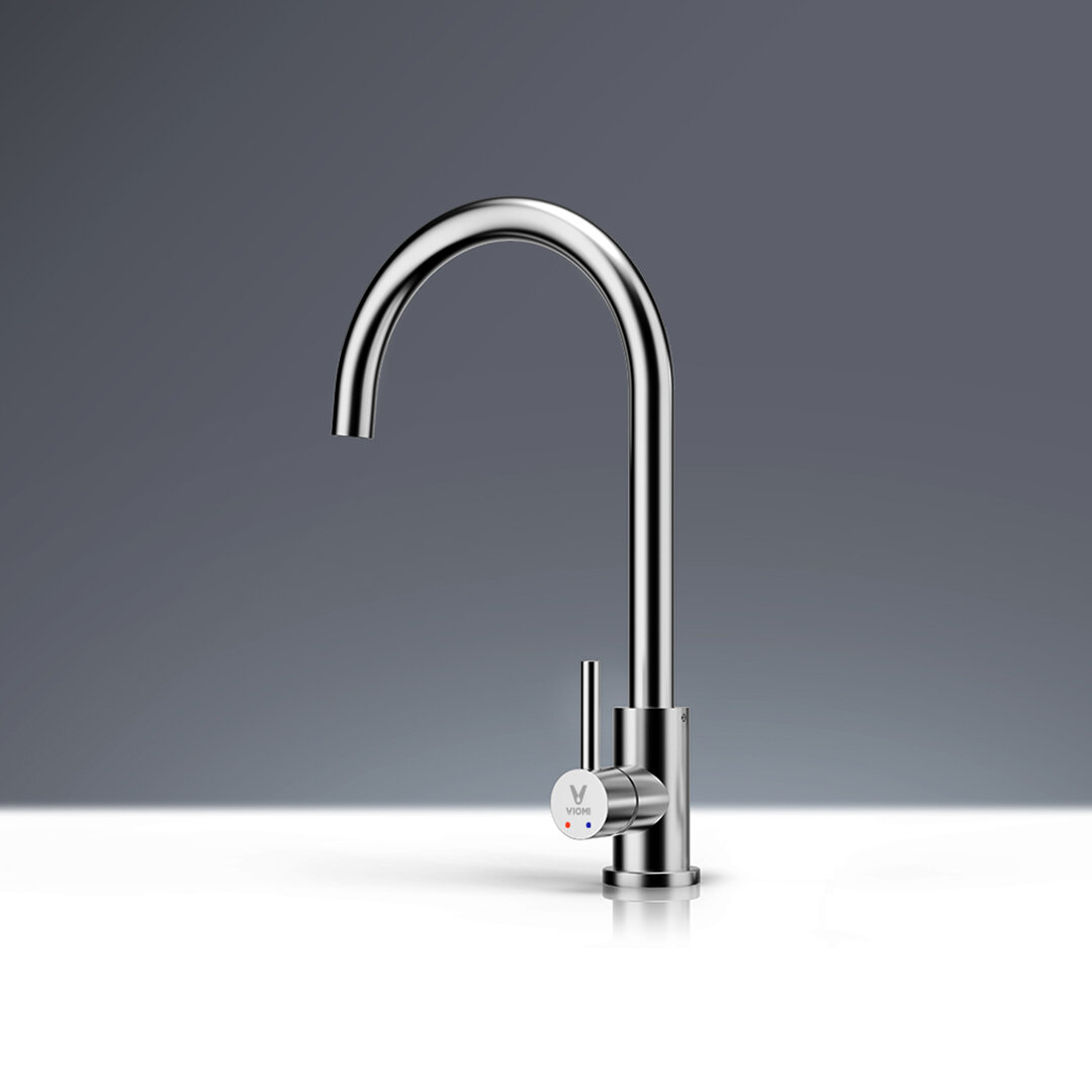 Viomi Stainless Steel Kitchen Basin Sink Faucet Tap 360 Rotation Hot Cold Mixer Single Handle Deck Mount Aerater From Xiaomi Youpin