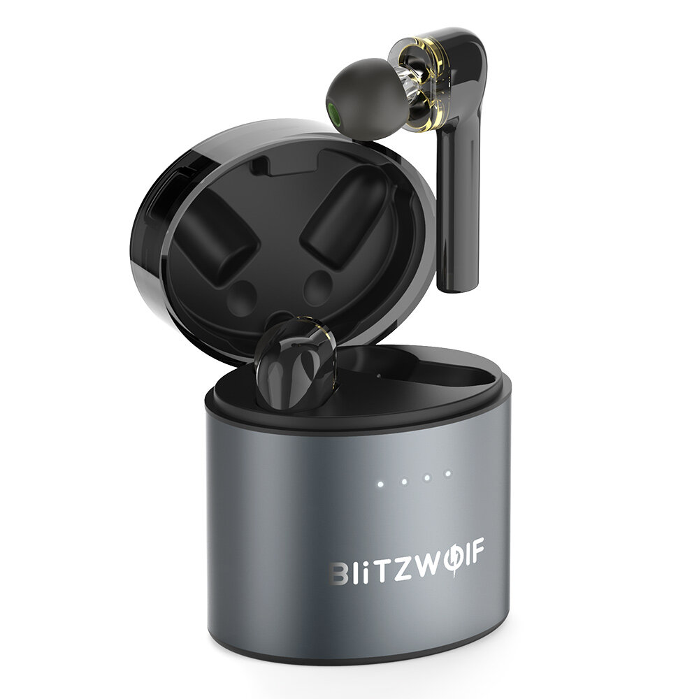 BlitzWolf� BW-FYE8 TWS bluetooth 5.0 Earphone QCC3020 Graphene Dual Dynamic Driver Touch Control Hands-free Headphone