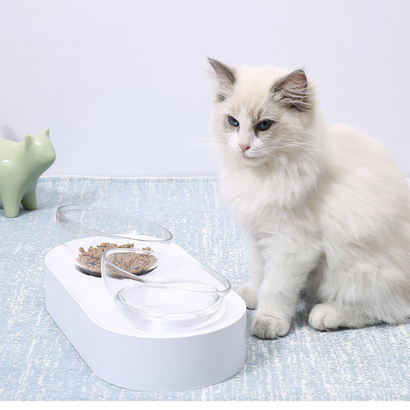 PETKIT Pet Bowl Feeding Dishes Adjustable Double Feeder Bowls Water Cup Cat Bowls Drinking Bowl From Xiaomi Youpin