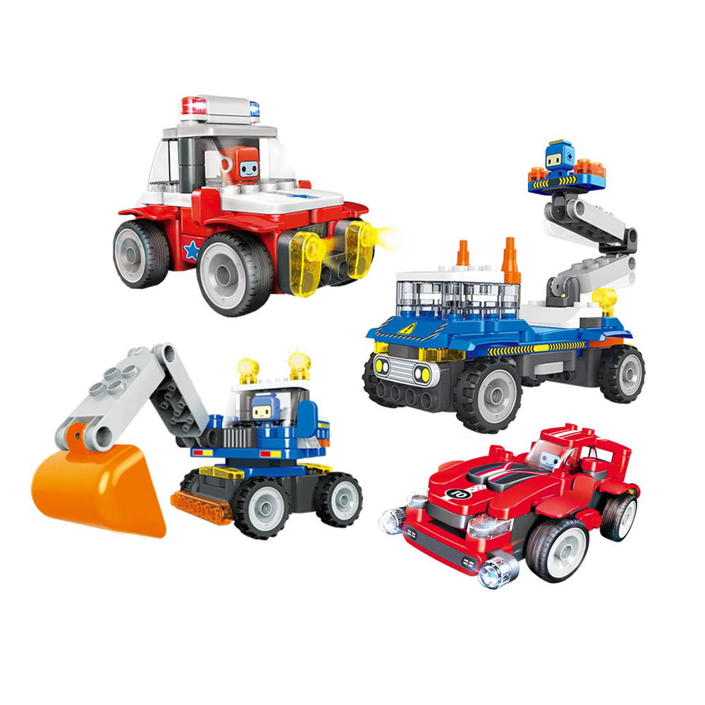 Traffic Series Large Particle Blocks Toys Kids Gift Collection from xiaomi youping