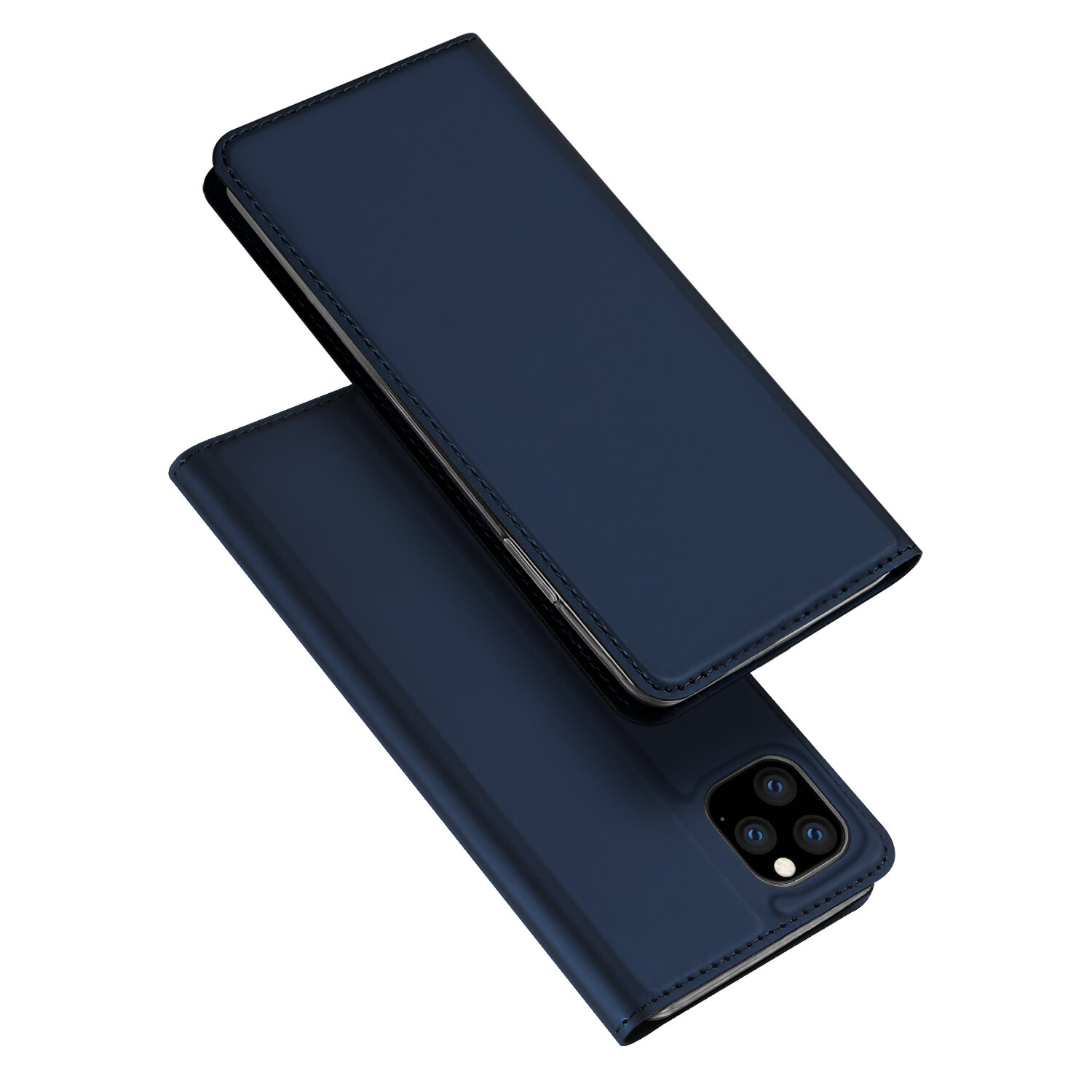 DUX DUCIS Flip Magnetic Shockproof with Card Slot PU Leather Protective Case for iPhone 11 Pro 5.8 inch