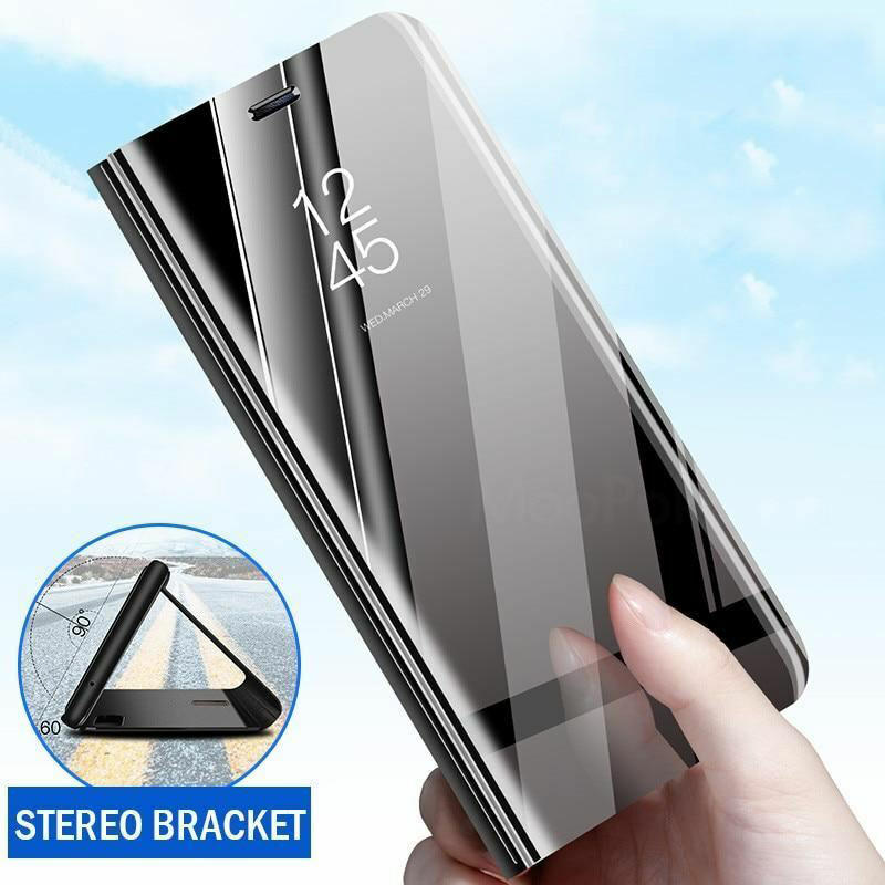 Bakeey Plating Mirror Window Shockproof Flip Full Cover Protective Case for Xiaomi Mi9 Mi 9 Lite / Xiaomi Mi  CC9