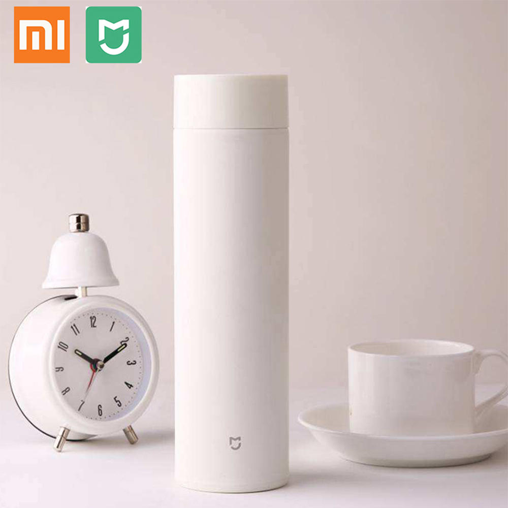 Xiaomi Mijia 500ml Thermos Thermal Cup Vacuum Bottle Stainless Steel Inner  Tank 12 Hours Long Keeping Heat Insulated Mug Bottle