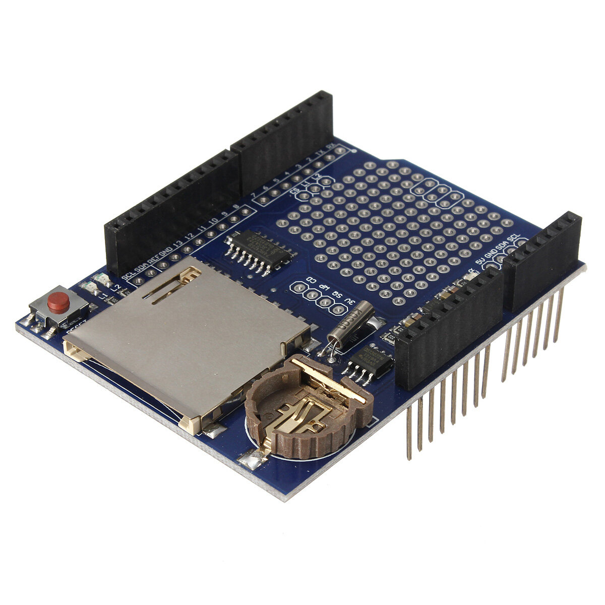 Logging Recorder Datenlogger Modul Shield V1.0 Arduino kompatibel