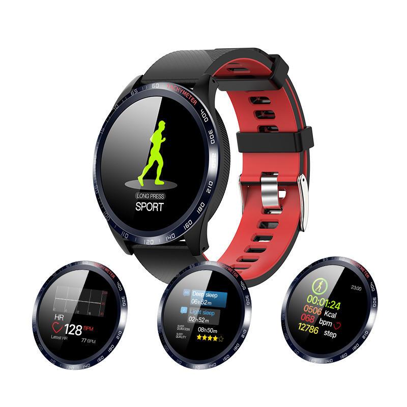 XANES W4 1.3'' Touch Screen IP67 Waterproof Smart Watch Blood Oxygen Monitor Stopwatch Countdown Fitness Sports Bracelet