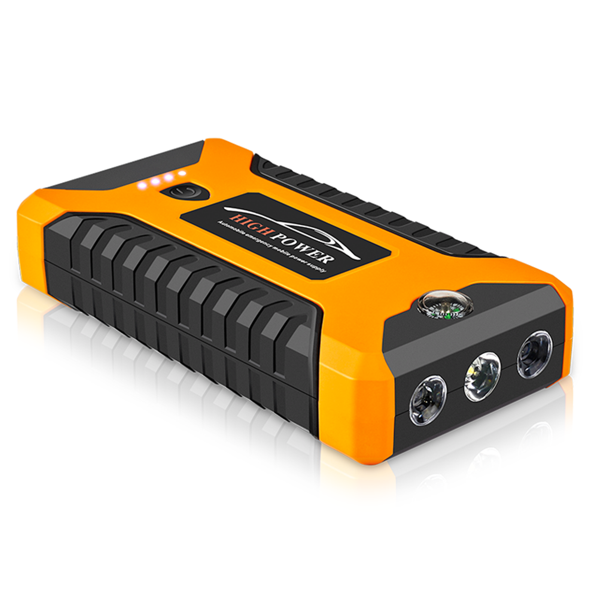 99800mah 600A Peak Car Jump Starter Lithium Battery with LED SOS Mode 12V Auto Battery Booster