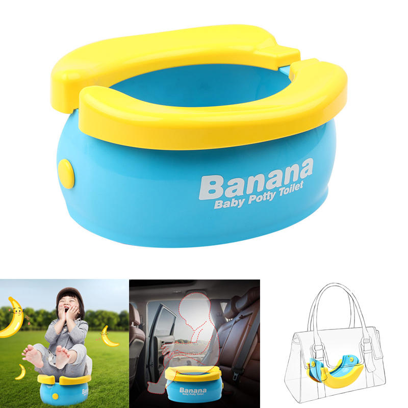 Potty Training Seat Cute Banana Toilet Seat Trainer Max Load 50lbs