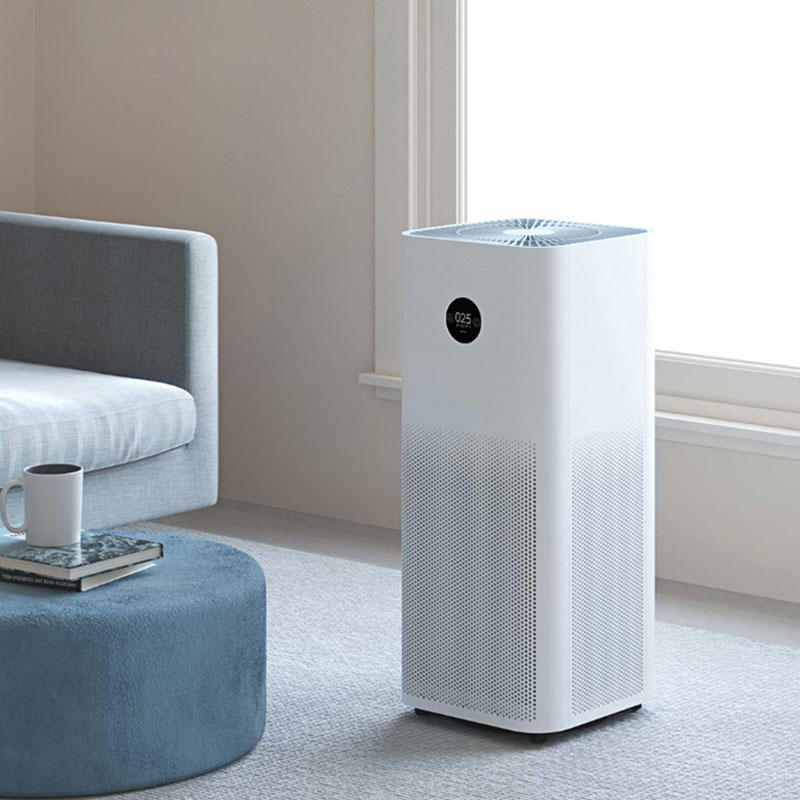 Xiaomi Mijia Air Purifier Pro H White OLED Touch Display Mi Home APP Control 600m3_h Particle CADR