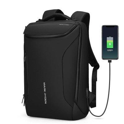 Mark Ryden 2019 New Anti_thief Fashion Men Backpack Multifunctional Waterproof 15.6 inch Laptop Bag Man USB Charging Travel Bag