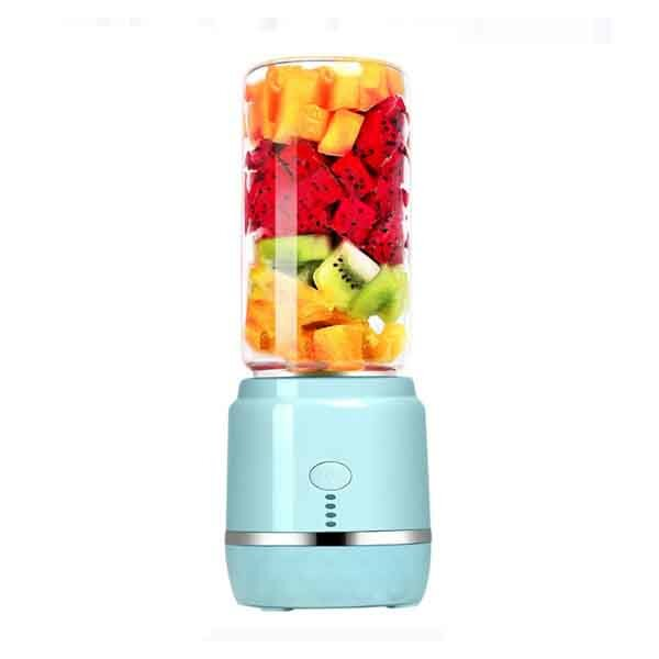 400ml USB Rechargeable Juicer Mixer Electric Fast Blenders Portable Camping Travel Juice Cup Machine