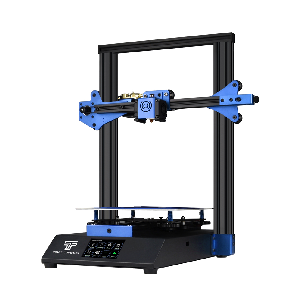 TWO TREES® BLUER 3D Printer DIY Kit 235*235*280mm Print Size Suuport Auto-level/Filament Detection/Resume Print Fuction with TMC2208 Silent Driver/MKS ROBIN NANO Mainboard