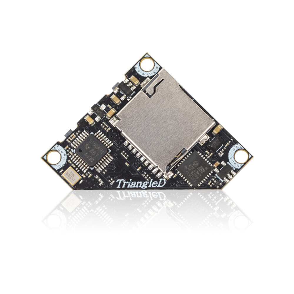 Eachine TriangleD 5.8G 40CH 25/100/200/400mW Switchable Triangle AV FPV Transmitter VTX With DVR Support Smart Audio Tramp for Tinywhoop