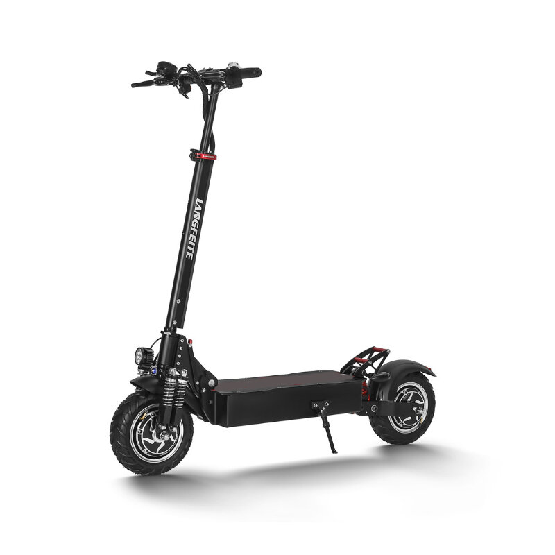 LANGFEITE L9 26Ah 52V 1000W Dual Motor Folding Electric Scooter 10 Inch 60km/h Top Speed Range 70km Mileage Double Brake System Max Load 150kg EU Plug