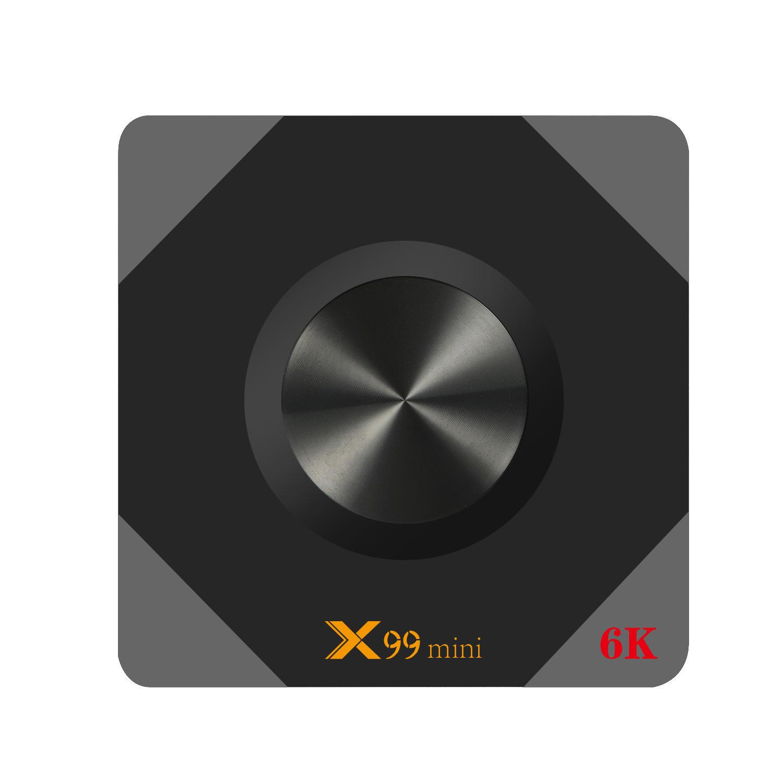 X99 Mini Allwinner H6 4GB RAM 64GB ROM 5G WIFI Android 9 0 4K 6K TV Box
