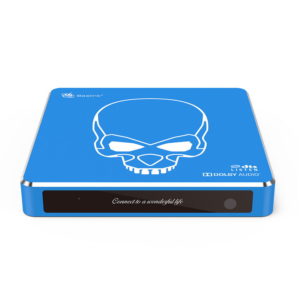 Beelink GT-King Pro S922X-H 4GB DDR4 64GB 5G WIFI 1000M LAN bluetooth 4.1 Android 9.0 Voice Control TV Box Support HDD DTS LISTEN HIFI Lossless Music