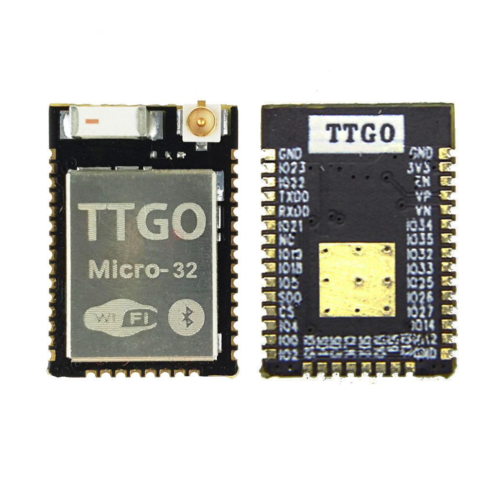 LILYGO® TTGO Micro-32 V2.0 Wifi Nirkabel bluetooth Modul ESP32 PICO-D4 IPEX ESP-32