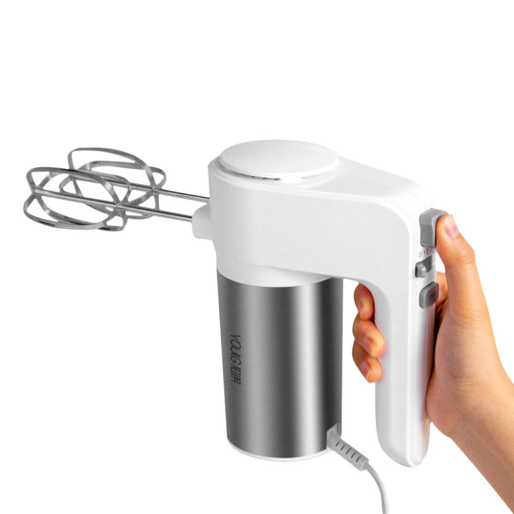 YOULG YG9106 Electric Egg Beater 6 Speed Control Egg Milk Flour Drink Electric Blender For Kitchen Cooking Baking Tools From Xiaomi Youpin