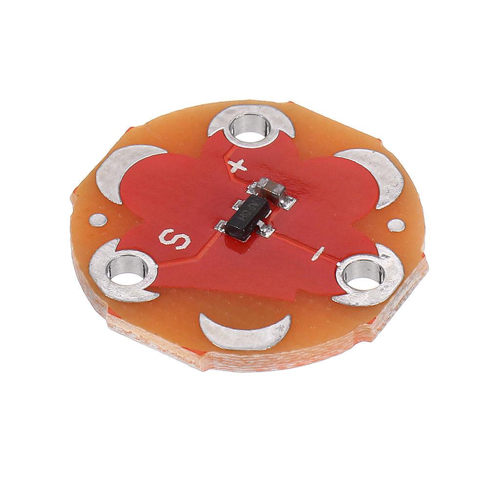 Modul Sensor Suhu LilyPad MCP9700 Geekcreit untuk Arduino - produk yang bekerja dengan papan Arduino resmi