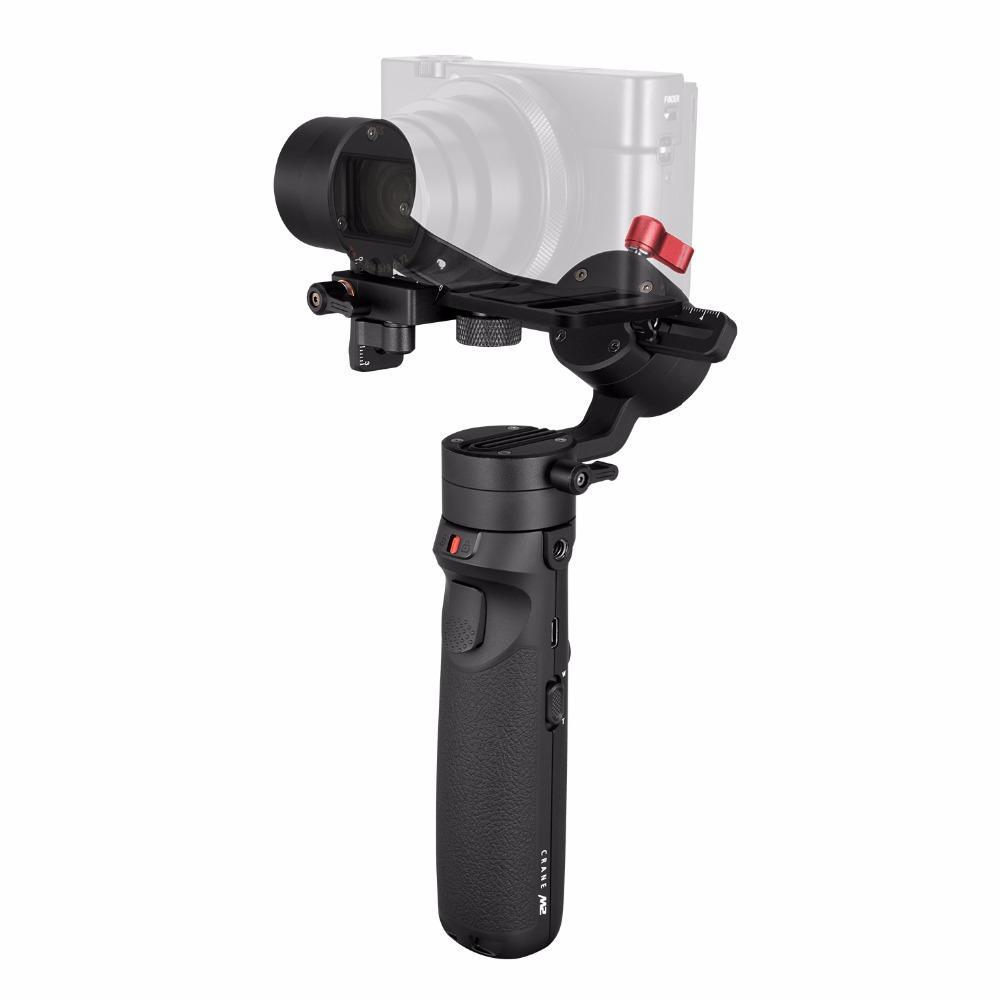 ZHIYUN Original Crane M2 Gimbals for Smartphones Mirrorless Action Compact Camera Handlebar Stabilizer