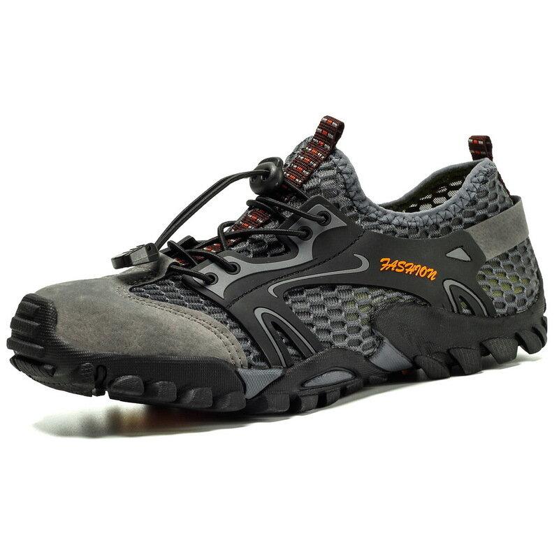 TENGOO Men Water Shoes Quick-Qrying Sports Shoes Outdoor Running Hiking Walking Fishing Sneakers