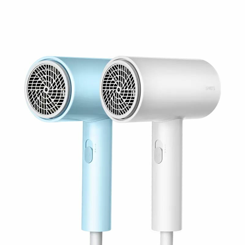 SMATE 1800W Electric Hair Dryer 3 Gears Negative Ions Double-layer Air Intake Net Overheating Power Off Hair Drying Machine From Xiaomi Youpin