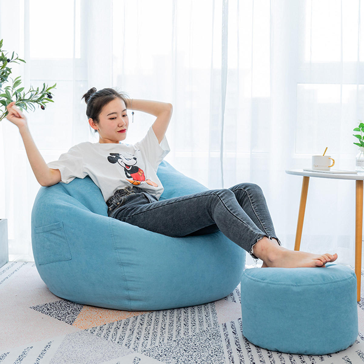 Cool Large Classic Lazy Bean Bag Chair Sofa Seat Covers Indoor Gaming Adult Storage Bag Baby Seat Sofa Protector Caraccident5 Cool Chair Designs And Ideas Caraccident5Info