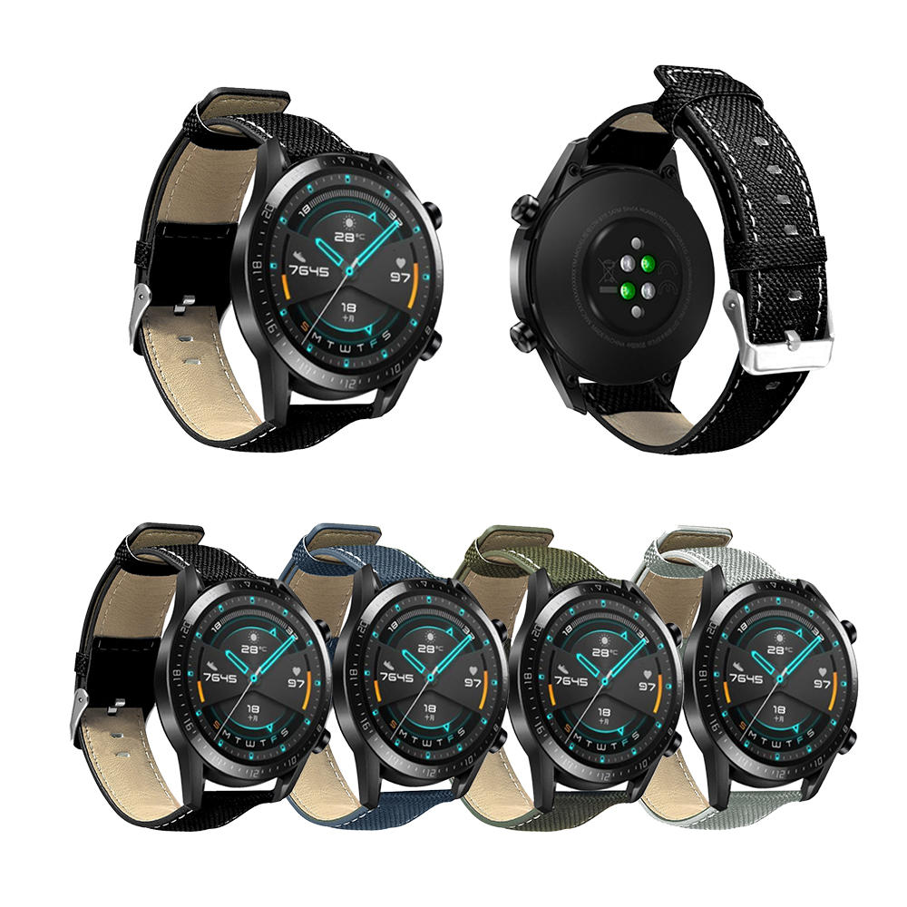 Bakeey 22MM Leather Smart Watch Band For Huawei WATCH GT 2/Amazfit 2/2S фото