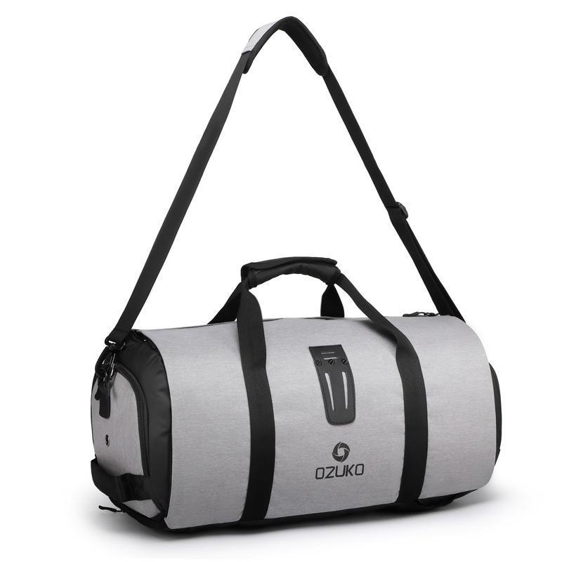 OZUKO Travel Luggage Bag Duffle Bag Suit Storage Bag With Shoes Bag