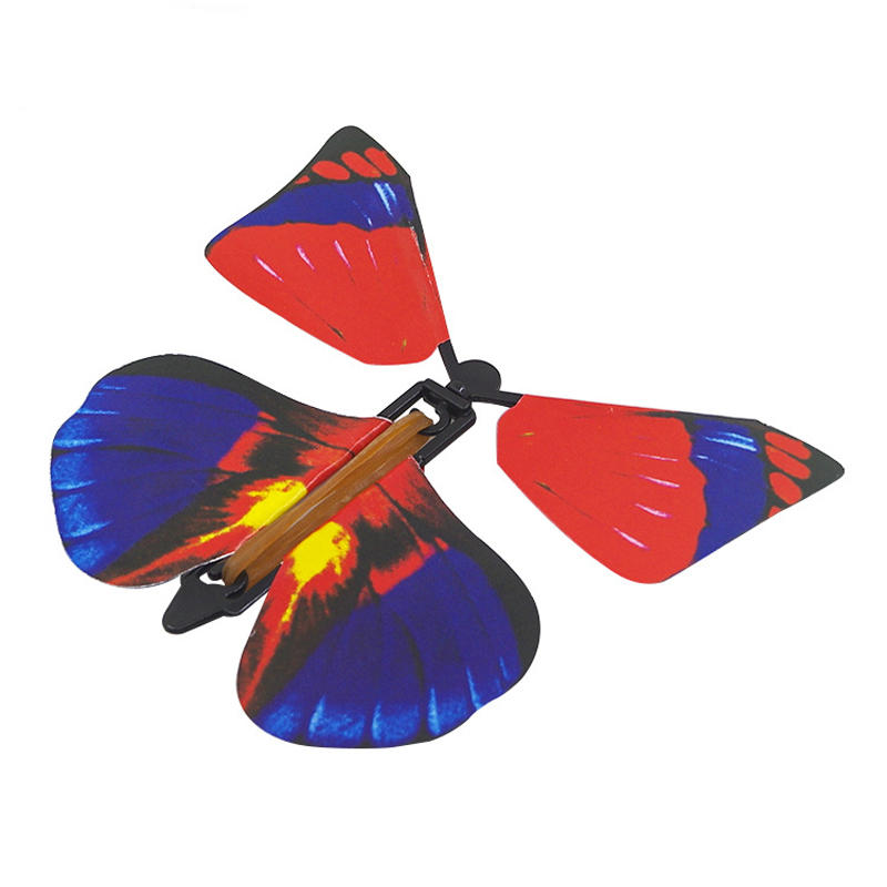 1PC Magic Props Flying Butterfly Hand Transformation Toys For Kids Christmas Tricky Funny Joke, Topacc  - buy with discount