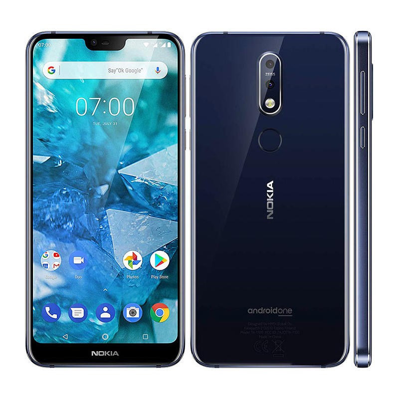 Nokia 7.1 Global Version 5.84 inch FHD+ Android 10 NFC 3060mAh 3GB RAM 32GB ROM Snapdragon 636 Octa Core 4G SmartPhone