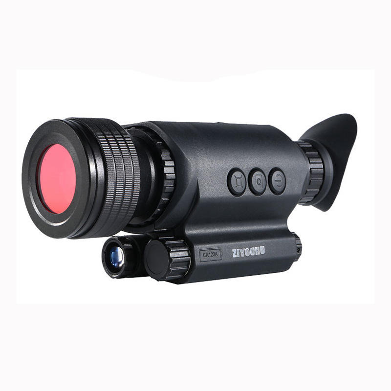 ZIYOUHU DEV-GE3 6x36X 200m Tactical DV Night-vision Device Infrared Handheld Monocular HD Telescope Camera Video Record