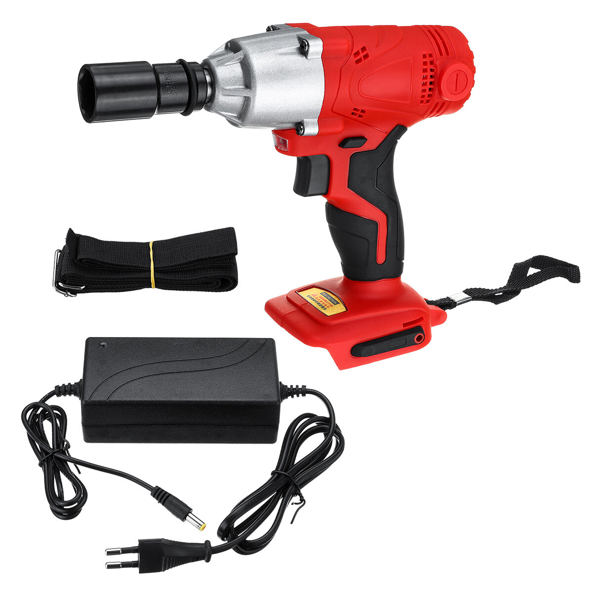 180V-240V Cordless LED Light Impact Wrench 50Hz 350 Nm Waterproof Electric Wrench Adapted To 18V Makita Battery