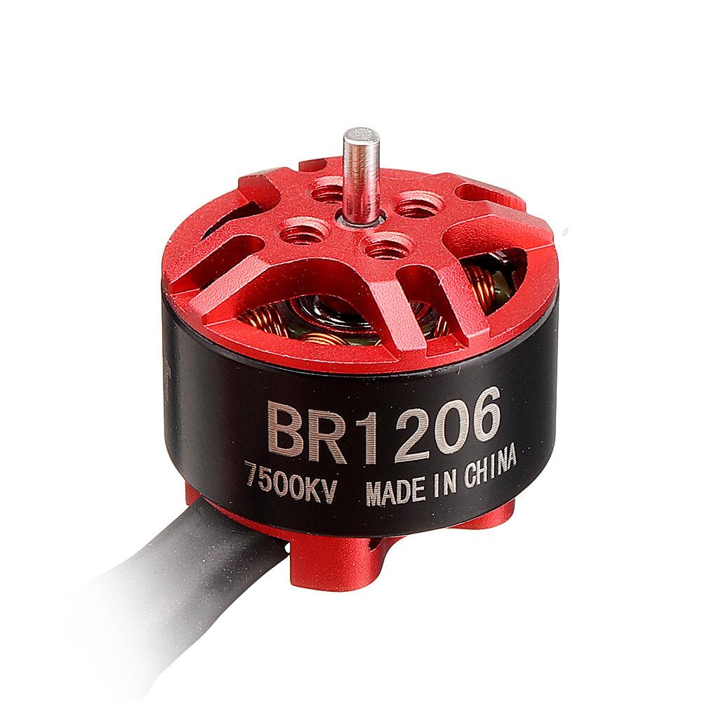 Racerstar BR1206 1206 4500KV 6000KV 7500KV 2-4S Brushless Motor for RC Drone FPV Racing