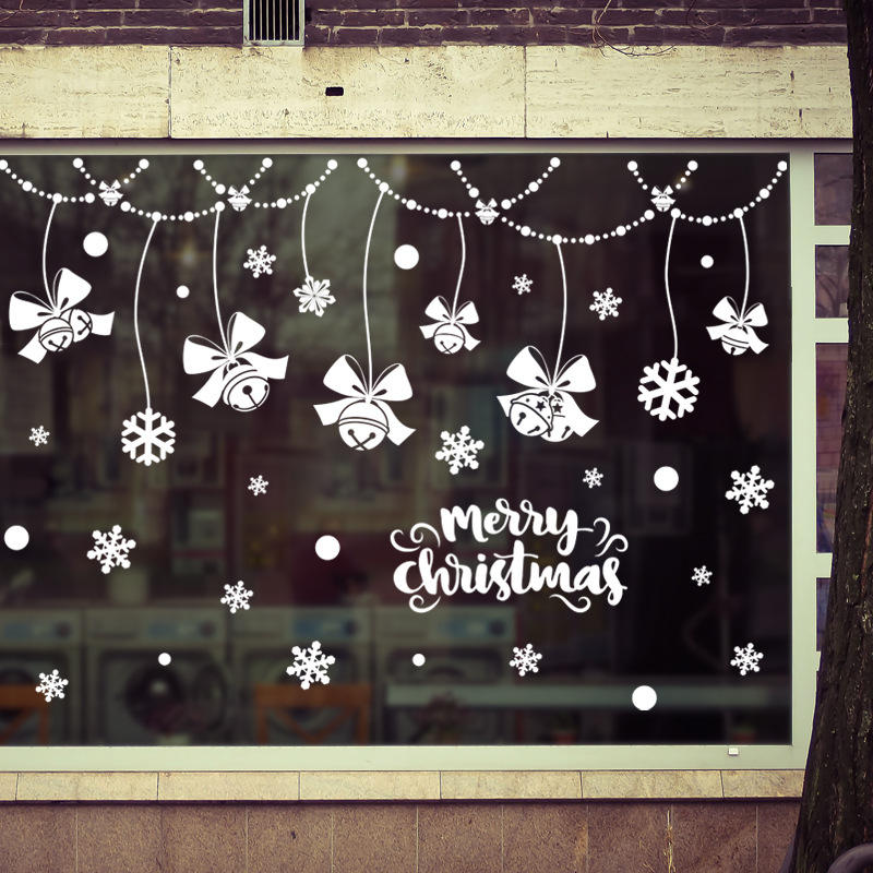 Miico XL869 Christmas Sticker Home Decoration Sticker Window and Wall Sticker Shop Decorative Stickers, Banggood  - buy with discount