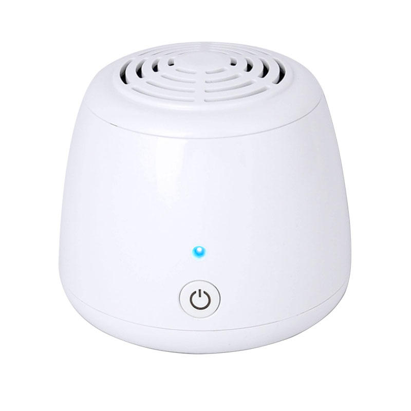 Mini AA Battery Air Purifier Car Refrigerator Deodorizer for Household Bedroom Wardrobe Disinfection