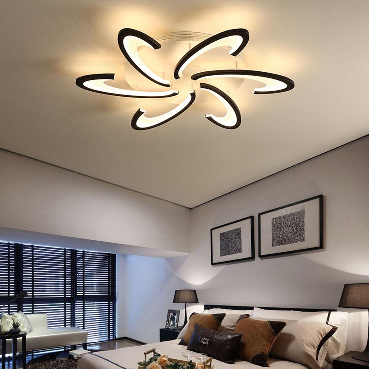 Modern Led Ceiling Light For Living, Modern Led Chandeliers For Bedroom