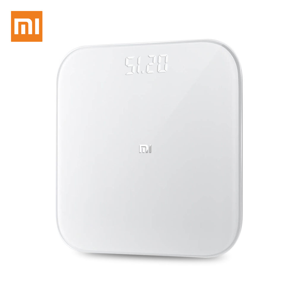 [International Version] Xiaomi Mi Scale 2.0 Smart Bluetooth Body Weighing Scale APP Control Digital LED Fitness Weight Measurement Tools Scale