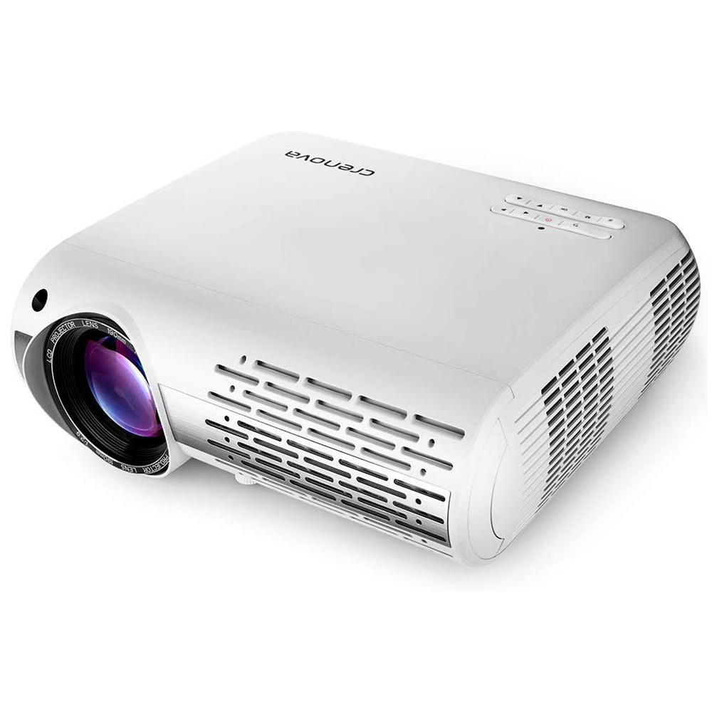 Crenova XPE660 LCD Projector 6500 Lumens 1920*1080 1080P 4K LED Video Projector Home Theater Cinema Basic Version, Banggood  - buy with discount