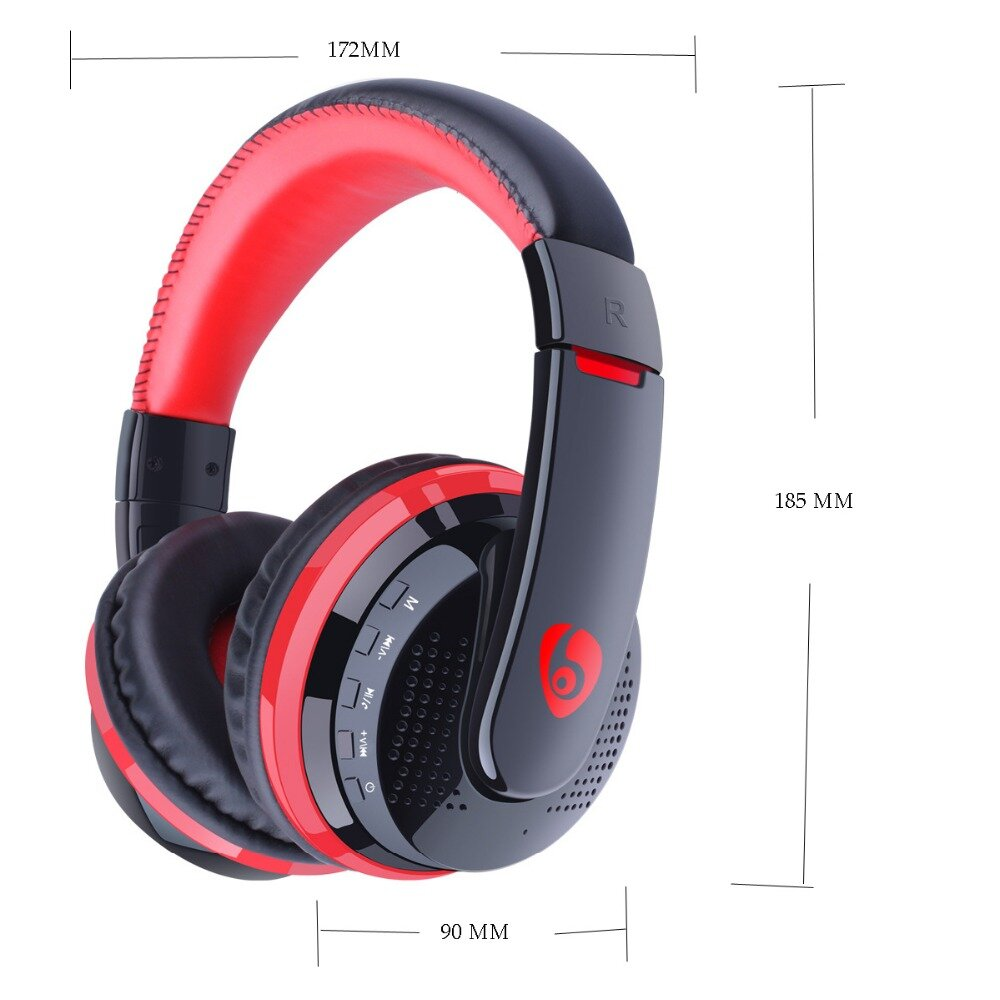 Mx666 Foldable Wireless Gaming Headphone Bluetooth Over Ear Handsfree Adjustable Us 25 43